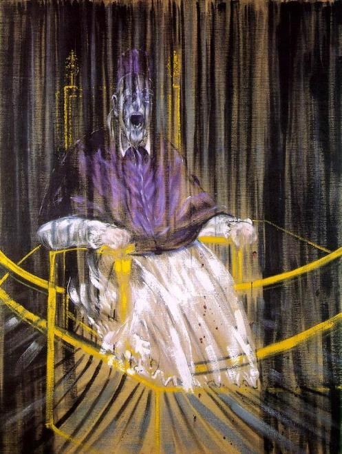 Study after Velazquez's Portrait of Pope Innocent X ,1953